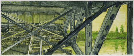 Lli Wilburn, Green Morrison Bridge, 2011