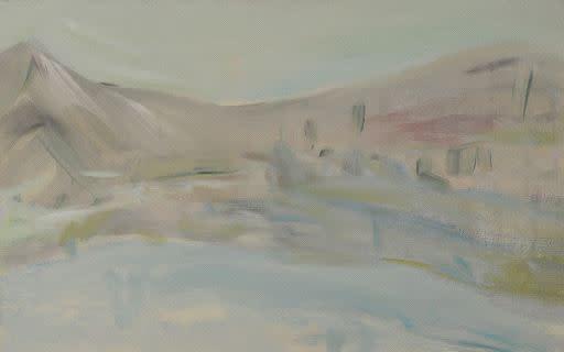 Ritsuko Ozeki, Landscape- Wave, 2015