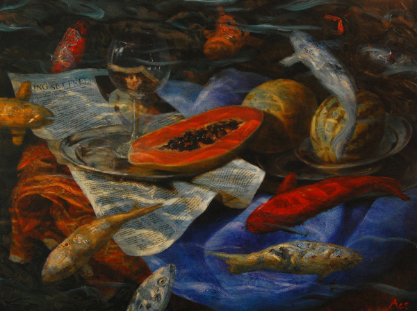 Katherine Ace, Neptune's Picnic Submerged, 2010