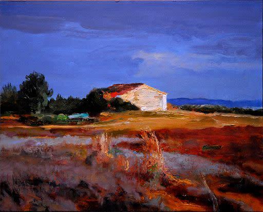 Kevin Kadar, Derelict Portuguese Farmhouse, I, 2010