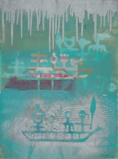 Joe Feddersen, Reflection, 2015