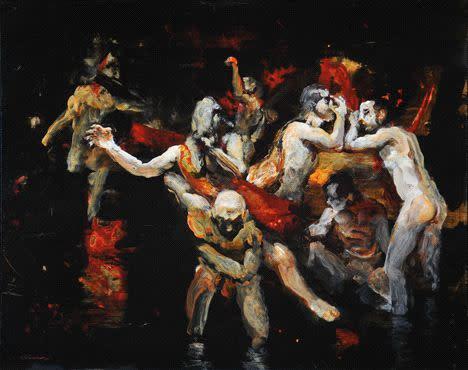 Kevin Kadar, Figure Painting 1301, 2011