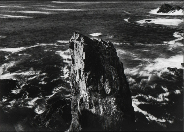 Thomas Joshua Cooper, The North Atlantic Ocean, The Butt of Lewis, The Isle of Lewis, The Western Isles, Scotand, The North-most point of the Western Isles, 1990s