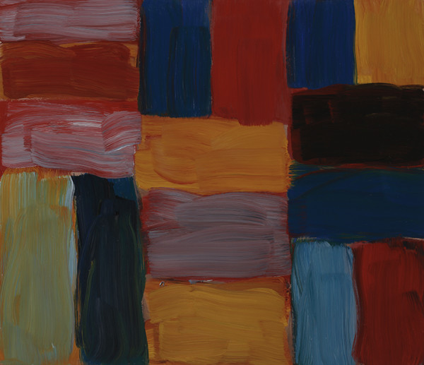 Sean Scully, Wall Pink, 2016