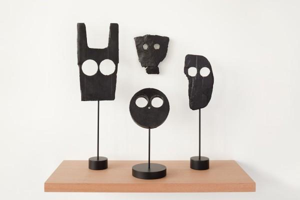 Peter Liversidge, Untitled (Mask Group 1), 2014