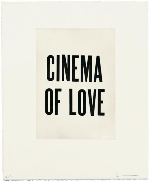 David Austen, Cinema of love, 2006