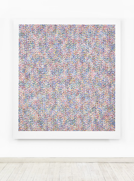 James Hugonin, Fluctuations in Elliptical Form (I), 2016-17