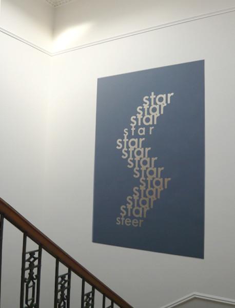 Ian Hamilton Finlay, Star / Steer, 1966 - 2008