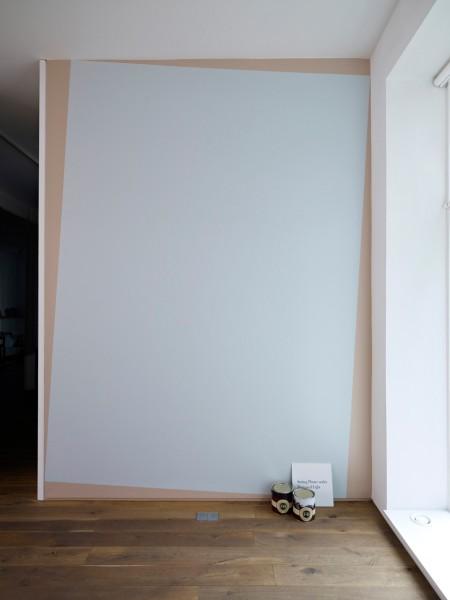 Kay Rosen, Setting Plaster under Borrowed Light, 2011