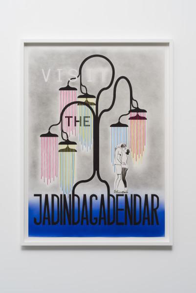 Charles Avery, Untitled (Visit the Jadindagadendar), 2016