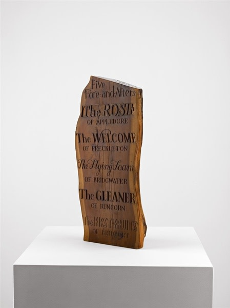 Ian Hamilton Finlay, Five Fore-and-Afters, c.1970