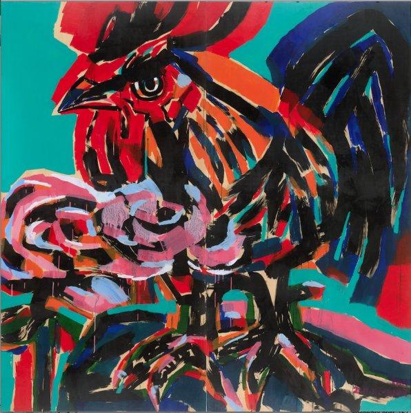 Chen Haiyan 陈海燕, Rooster No. 2 鸡系列No. 2, 2011
