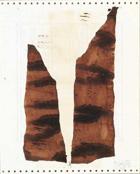 Yang Jiechang 杨诘苍, Soy Sauce Drawings 12 酱油画 12, 1988
