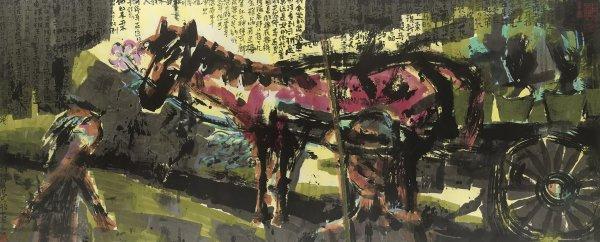 Chen Haiyan 陈海燕, Horse and Rose 马与玫瑰, 2007