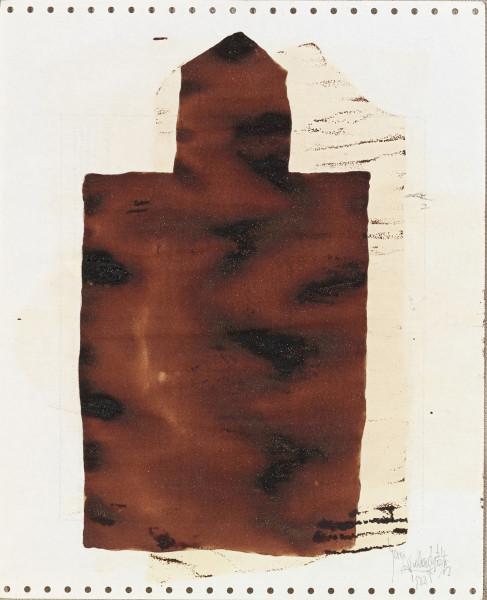Yang Jiechang 杨诘苍, Soy Sauce Drawings 4 酱油画 4, 1988
