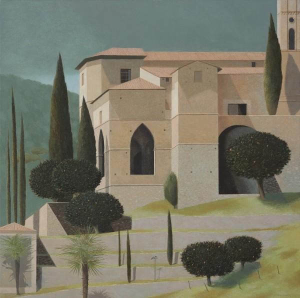 Tom Mabon, A Church in Piedmont