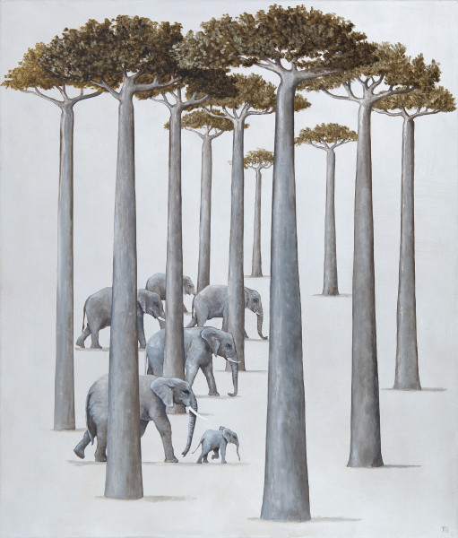 Rebecca Campbell, A Parade of Elephants
