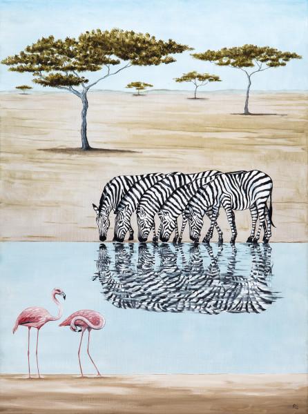 Rebecca Campbell, A Dazzle of Zebras
