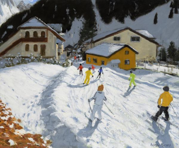 Andrew Macara, Skiing Back to Val Gardena, Italy