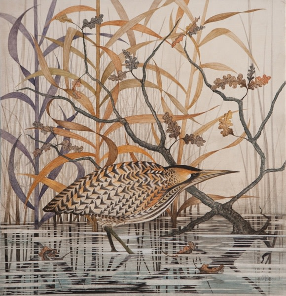 Harriet Bane, Bittern in the Reeds