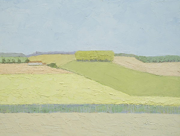 Jane Hewlett, Suffolk Farmhouse