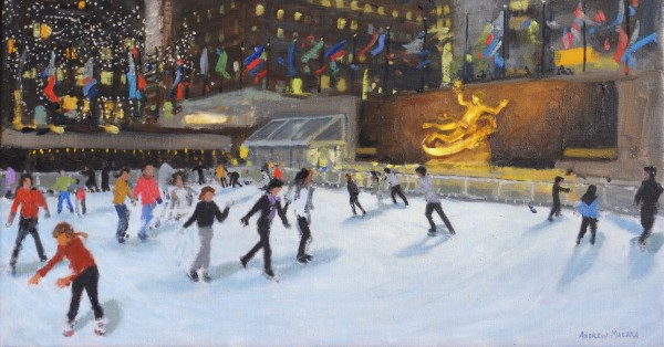 Andrew Macara, Evening, Rockefeller Ice Rink, New York