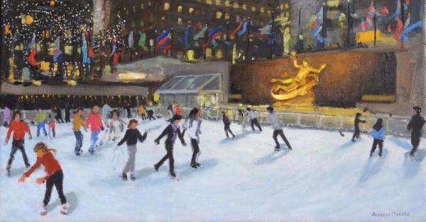 Andrew Macara, Evening, Rockefeller Ice Rink, New York