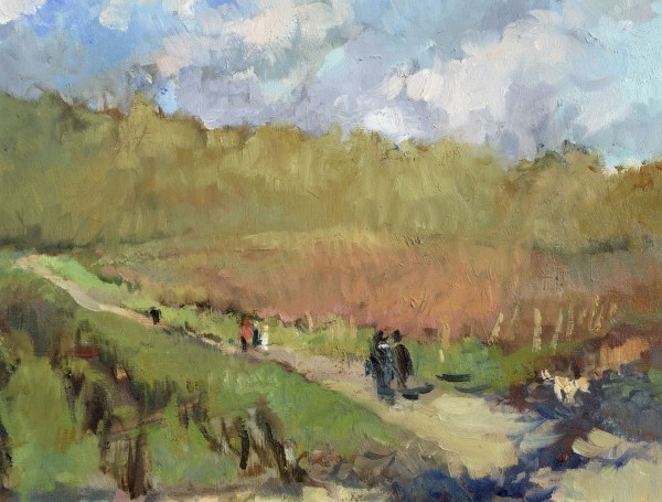 Julia Hawkins, Walk in Denbies Early February