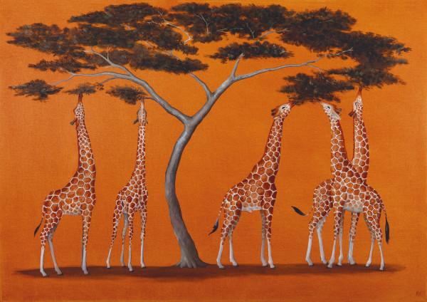 Rebecca Campbell, A Tower of Giraffes
