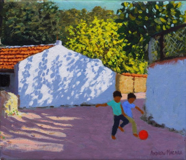 Andrew Macara, Football in Bodrum, Turkey
