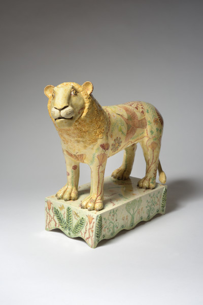 Georgina Warne, There's a Lion in the Garden