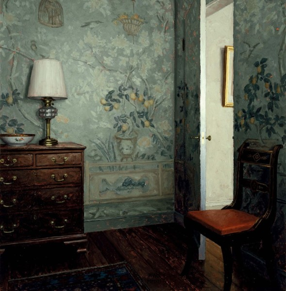 Harry Steen, Wallpaper Room - Day