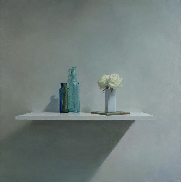 Helen Simmonds, Bottles, Roses and Victorian Tile