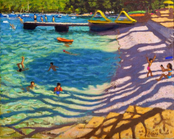 Andrew Macara, Tree Shadows, Vrsar, Croatia