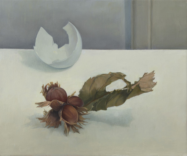 Susan Angharad Williams, Hazels with Blue Egg Shell