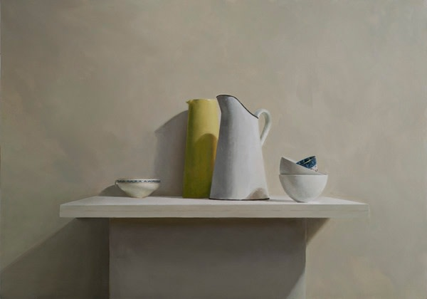 Helen Simmonds, French Jug and Chinese Bowl