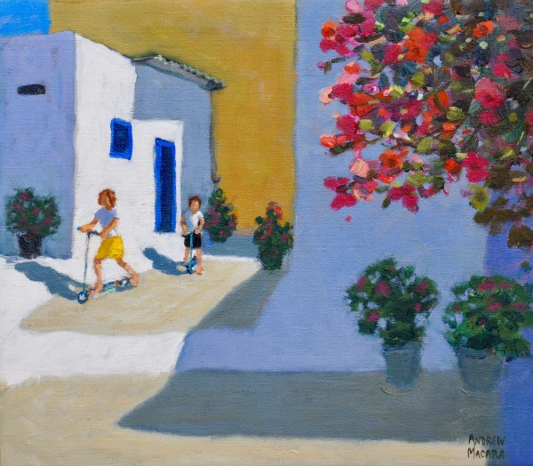 Andrew Macara, Scooter Kids, Symi, Greek Islands