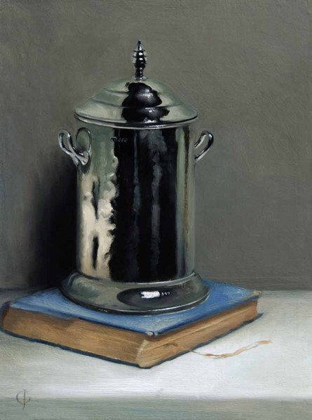 James Gillick, Silver Pot and Book