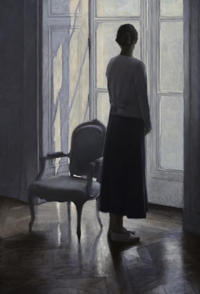 Geneviève Daël, À la fenêtre
