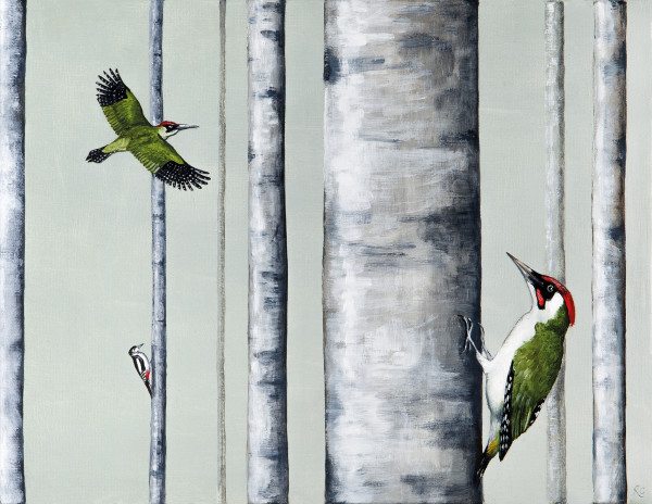 Rebecca Campbell, A Drilling of Woodpeckers