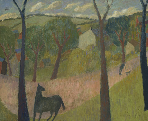Nicholas Turner, Horse on a Path