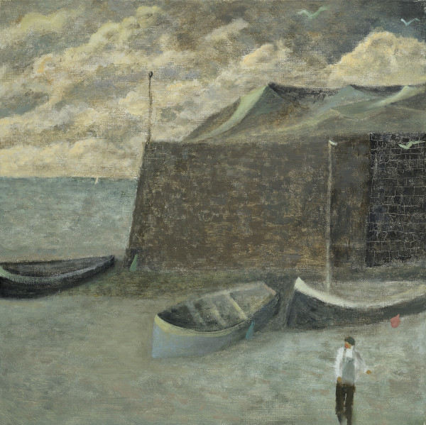 Nicholas Turner, Boats and Harbour Wall