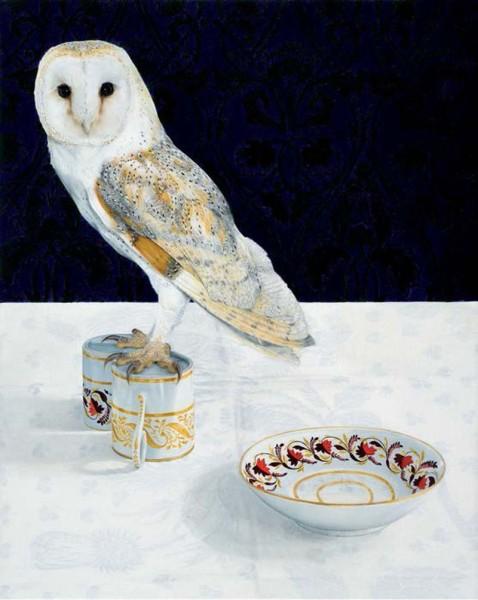Camilla Clutterbuck, Dining Room I Barn Owl