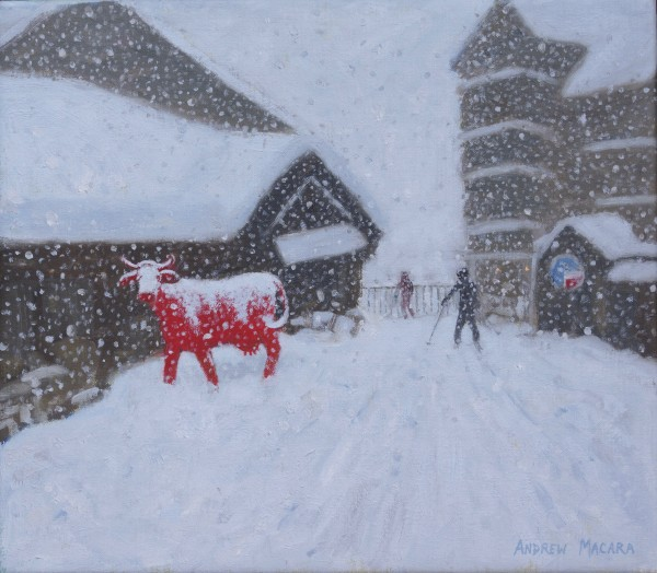 Andrew Macara, Red Cow, La Vache Rouge, Les Arcs, France