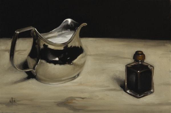 James Gillick, Silver Jug & Ink Pot