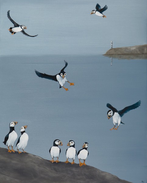 Rebecca Campbell, A Circus of Puffins