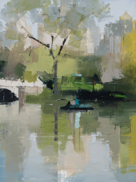 Lisa Breslow, Boaters 3, 2018