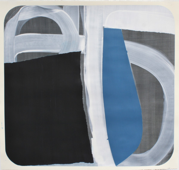 Marcelyn McNeil, Black and Blue, 2017