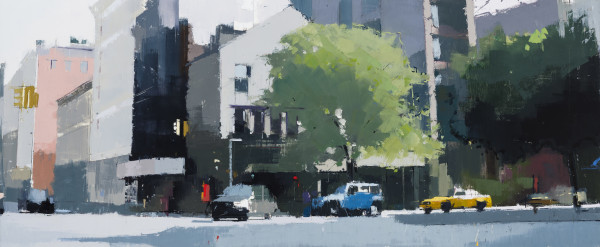 Lisa Breslow, Soho Morning, 2017