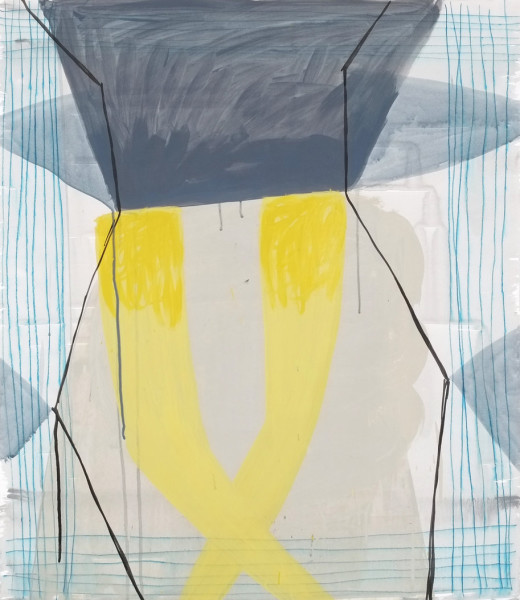 Ky Anderson, Yellow Leaf, 2018